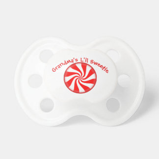 Peppermint Candy Custom Baby Pacifiers