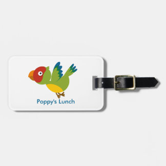 Percy the Parrot tag Tags For Luggage