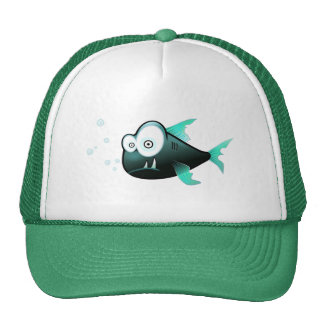 Percy the Piranha Fish Cap