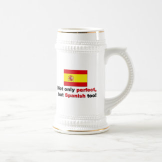 Perfect and Spanish Beer Steins