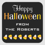 Personalised Happy Halloween Candy Favour Stickers