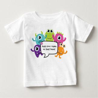 Personalised Shirt/Romper - Little Monster Design Tshirt