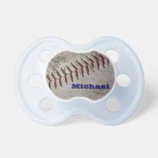 Personalized Baby Boy Future Baseball Player Pacifiers