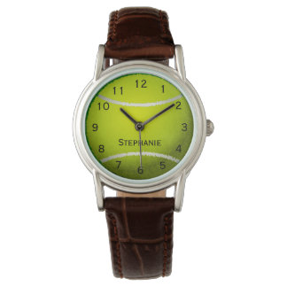 Personalized Tennis Ball Sports Women's Watches