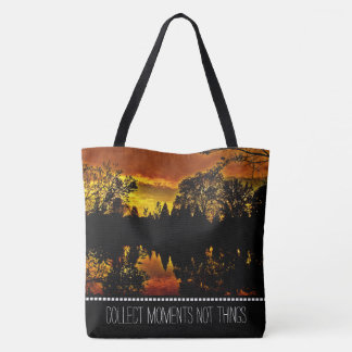 Personalized Text or Name Nature Photography Tote Bag
