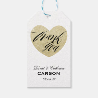 "Personalized ""Thank You"" Wedding Favor"