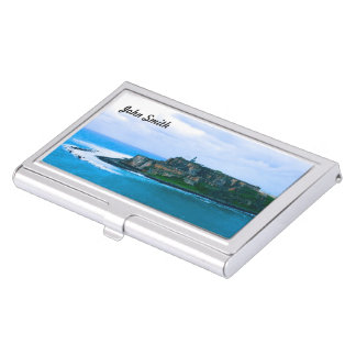(Personilize) Old San Juan Forts Business Card Cases