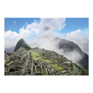 Peru, Machu Picchu, the ancient lost city of 4 Photograph