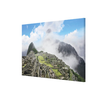 Peru, Machu Picchu, the ancient lost city of Canvas Prints
