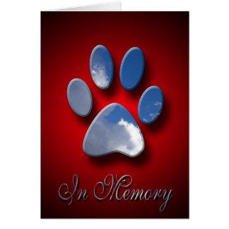 Pet Sympathy Greeting Cards   Loss Of Pet
