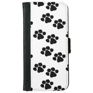 Pets Paw Prints iPhone 6 Wallet Case