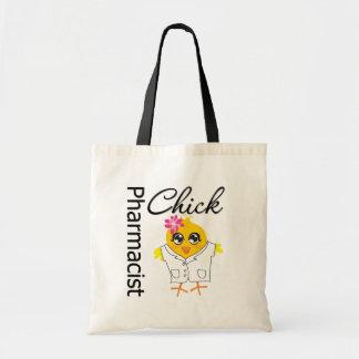 Pharmacist Chick Budget Tote Bag