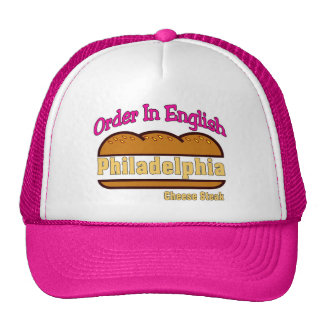 Philly Cheese Steak- Order In English Cap