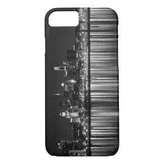 Philly night b/w iPhone 7 case