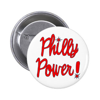 Philly Power! T-shirts, Hoodies, Baseball Tees 6 Cm Round Badge
