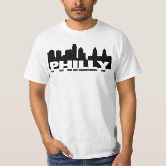 Philly Skyline on a Basic Tee