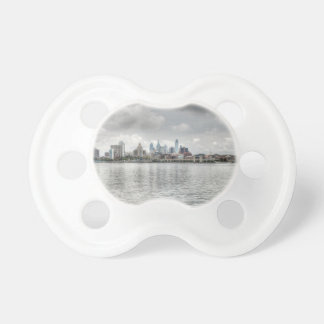 Philly skyline pacifier