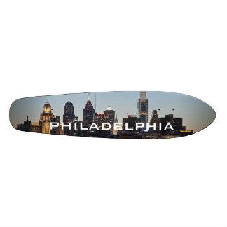 Philly sunset custom skate board