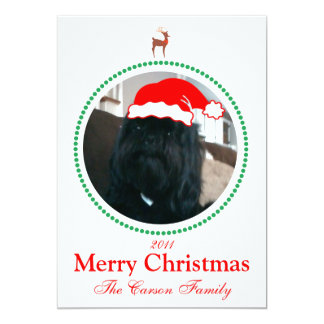 Photo Christmas Card - Holiday Card 13 Cm X 18 Cm Invitation Card
