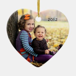 Photo keepsake ornament
