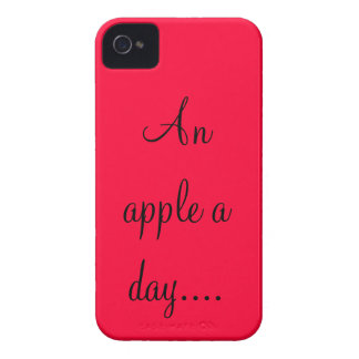 PhraseCase. An apple (red) iPhone 4 Cover