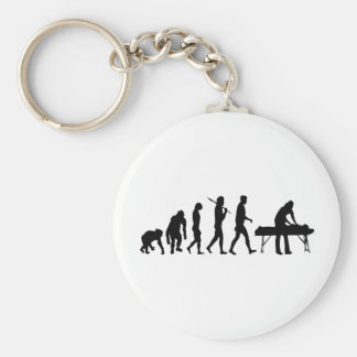 physiotherapy Sports medicine gifts Basic Round Button Key Ring