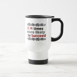 Pi Success Stainless Steel Travel Mug