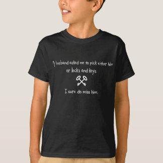 Pick Husband or Locks And Keys T Shirts