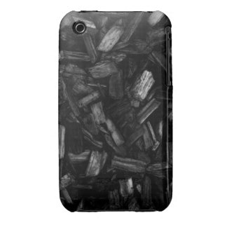Picture of wood pieces in black and white. Case-Mate iPhone 3 cases