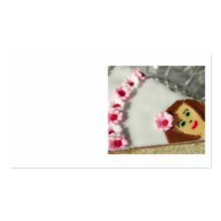 Piece of cake pack of standard business cards