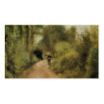 Pierre-Auguste Renoir- On the Path Pack Of Standard Business Cards