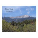 Pikes Peak- Colorado Springs Postcard