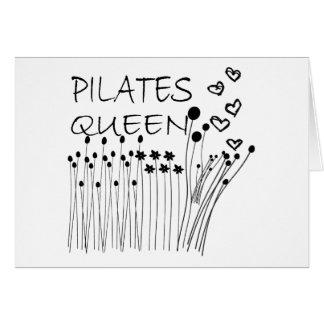 Pilates Method Queen! Greeting Card