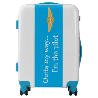 Pilot humor luggage