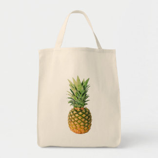 Pineapple Grocery Tote Bag