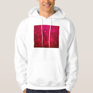Pink Abstract Sparkles Light Design Sweatshirt