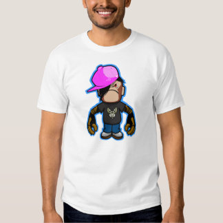 Pink apple Boy in monkey costume (robotic version) T Shirt