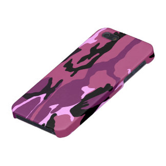 Pink Camo iPhone 5/5S Case