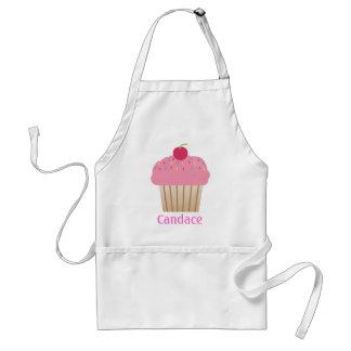 Pink Cupcake Personalized Apron