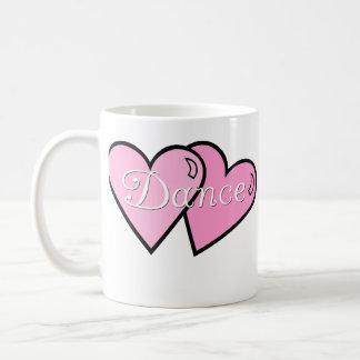 Pink Dance Hearts Mug