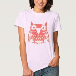 Pink Owl Tshirts