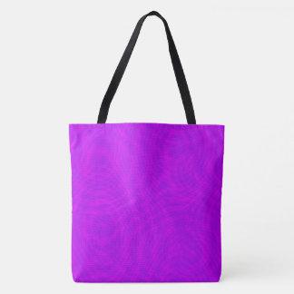 Pink & Purple Ripple Moiré bag Tote Bag