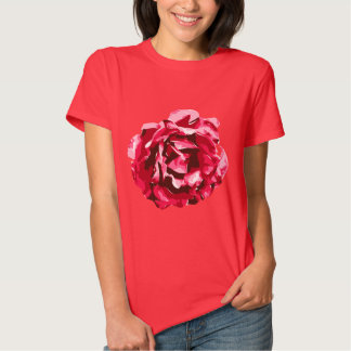 Pink Rose Blossom T-shirts