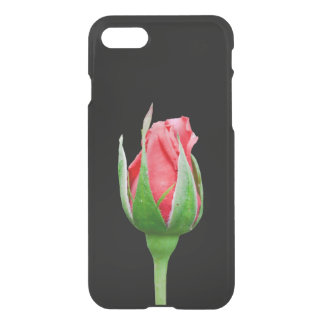 Pink rose bud iPhone 7 case