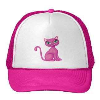 Pink Sassy Kitty Cap
