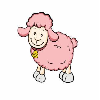 Pink Sheep Photo Sculpture
