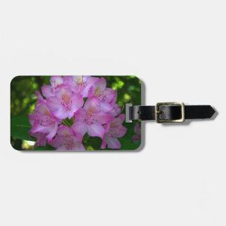 Pinkish purple Rhododendron Catawbiense Bag Tags