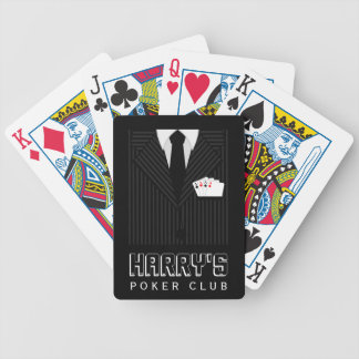 Pinstripe Suit Bicycle® Casino Poker Club Cards Bicycle Poker Cards