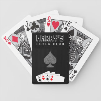 Pinstripe Suit Casino Poker Club Bicycle® Cards Playing Cards