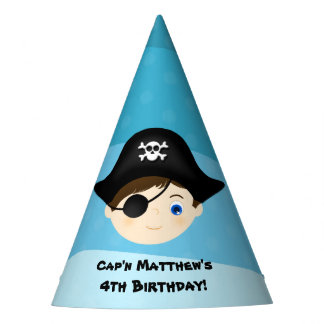 Pirate Boy Party Hat